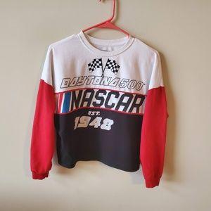 NASCAR Daytona 500 Womens Cropped Sweatshirt